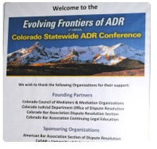 Statewide ADR Conference